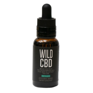 Wild CBD Organic Oil Tincture Mint Flavor is flavorful and calmning to the tummy.