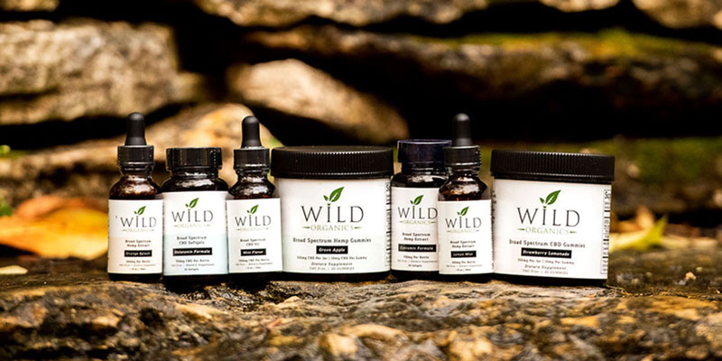 Introduce the right amount of Wild Organics CBD into your system for best results